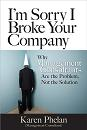 Book cover for I'm Sorry I Broke Your Company